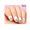 Snoopy Woodstock Happy Easter Eggs Assorted Waterslide Nail Decals