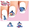 Eeyore Winnie the Pooh Assorted Set of 20 Waterslide Nail Decals