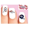 Denver Broncos Football Assorted Waterslide Nail Decals