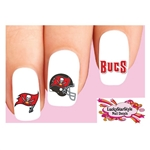 Tampa Bay Buccaneers Football Assorted Waterslide Nail Decals