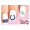 Indianapolis Colts Football Assorted Waterslide Nail Decals