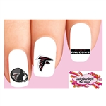 Atlanta Falcons Football Assorted Waterslide Nail Decals