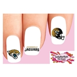 Jacksonville Jaguars Football Assorted Waterslide Nail Decals