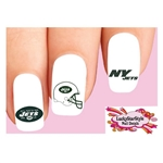 New York Jets Football Assorted Waterslide Nail Decals