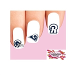 Los Angeles Rams Football Assorted Waterslide Nail Decals