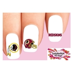 Washington Redskins Football Assorted Waterslide Nail Decals