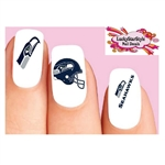 Seattle Seahawks Football Assorted Waterslide Nail Decals