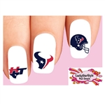 Houston Texans Football Assorted Waterslide Nail Decals