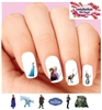 Frozen Anna Elsa Olaf Kristoff Assorted Set of 20  Waterslide Nail Decals
