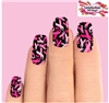 Pink Breast Cancer Awareness Ribbons Set of 10 Waterslide Full Nail Decals