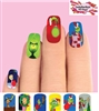 The Grinch Christmas Full Waterslide Nail Decals
