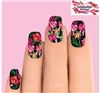 Hawaiian Hibiscus Bird of Paradise Set of 10 Waterslide Full Nail Decals