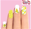 Lemons Assorted Set of 10 Full Waterslide Nail Decals