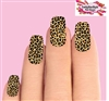 Leopard Print Set of 10 Full Waterslide Nail Decals