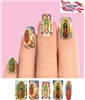 Our Lady of Guadalupe The Virgin Mary Set of 10 Full Waterslide Nail Decals