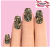 Duck Blind Camo Max 4 Camouflage Set of 10 Full Waterslide Nail Decals