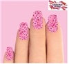 Pink Cherry Blossoms Set of 10 Waterslide Full Nail Decals