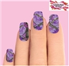 Purple Realtree Mossy Oak Camo Set of 10 Waterslide Full Nail Decals