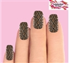 Snake Skin Set of 10 Waterslide Full Nail Decals