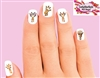 Giraffe Assorted Set of 20 Waterslide Nail Decals