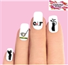 Golf Club, Bag, Driver Assorted Waterslide Nail Decals
