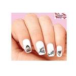Great White Shark Assorted Set of 20 Waterslide Nail Decals