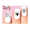 Halloween Black Spider Web Assorted Waterslide Nail Decals