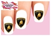 Lamborghini Assorted Set of 20 Waterslide Nail Decals