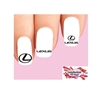 Lexus Assorted Set of 20 Waterslide Nail Decals