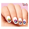 Colorful Andy Warhol Marilyn Monroe Assorted Waterslide Nail Decals