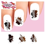 4 Wheel Off Road Motocross Dirt Bike Mud Tire Tracks Assorted Waterslide Nail Decals