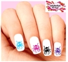 Octopus Assorted Set of 20 Waterslide Nail Decals
