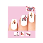 Sexy Pin up Girls Assorted #1 Waterslide Nail Decals