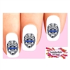 I Support the Police Blue Line Law Enforcement Waterslide Nail Decals