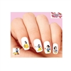 Snow White Assorted Set of 20 Waterslide Nail Decals