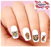 Tiger Assorted Set of 20 Waterslide Nail Decals