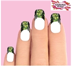 Camo Camouflage Mossy Oak Reatree Green Waterslide Nail Decals