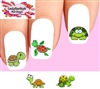 Cute Turtle Assorted Set of 20 Waterslide Nail Decals