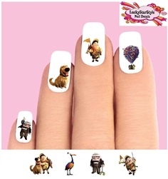 Up the Movie Assorted Set of 20 Waterslide Nail Decals