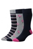 Flamingo Cotton Rich Socks