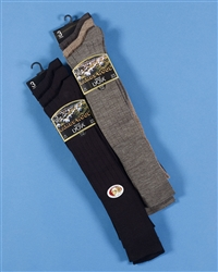 Knee Length Wool & Lycra Sock with Comfort Top
