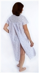 CareClothing open back nightdress