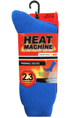 Mens Heat Machine Socks