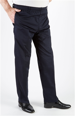 Mens Fully Elasticated Pull on Trousers