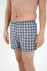 3 Pairs of Mens Cotton Boxer Shorts