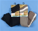 3 Pairs of Mens Cotton-Rich Longhose Socks 6-11