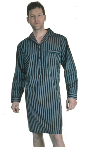 Haigman 100% Cotton Mens Nightshirt b83cc44cb
