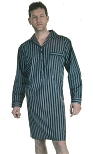 749c5c7f21 Haigman 100% Cotton Mens Nightshirt