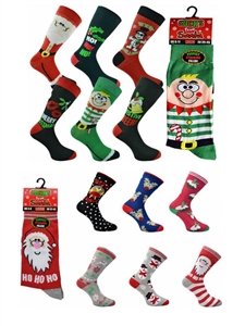 Socks from Santa 3 pair pack