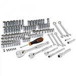 "GearWrench 83001D 118 Pc. 1/4"", 3/8"", and 1/2"" Drive 6 and 12 Point SAE/Metric Mechanics Tool Set"